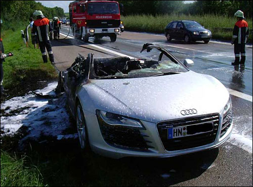 Audi R8 Crash XD